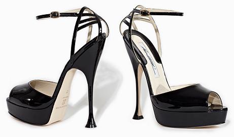 Brian Atwood 'Orlando' Open Toe Platform Sandals
