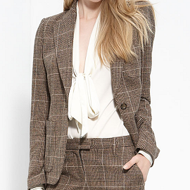 Rachel Zoe 'Glen' Plaid Jacket