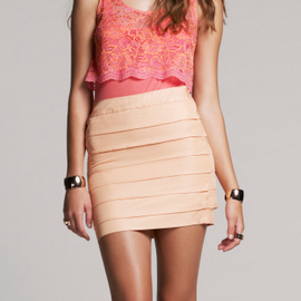 Bec & Bridge 'Bianca' Pleated Skirt