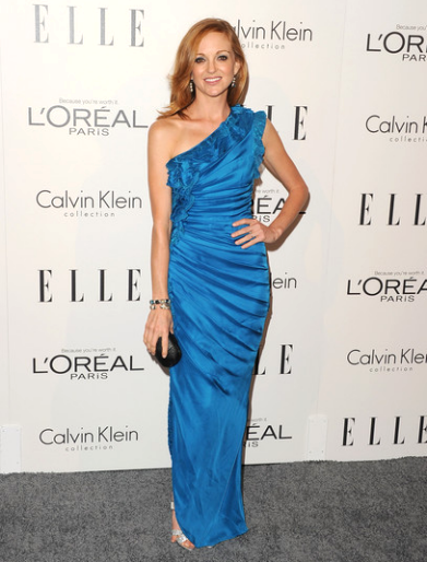 Jayma Mays in Catherine Malandrino | ELLE's Women in Hollywood Tribute