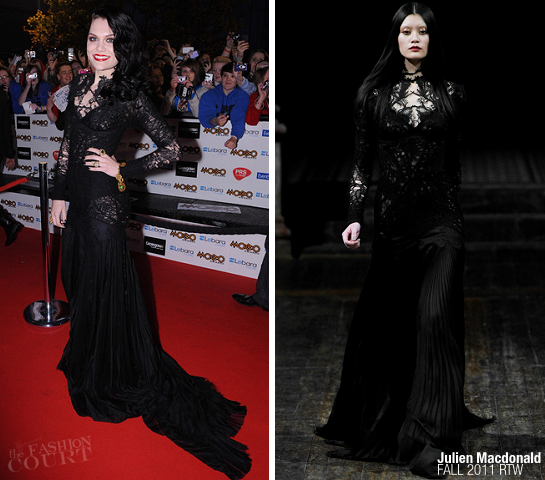 Jessie J in Julien Macdonald | MOBO Awards 2011
