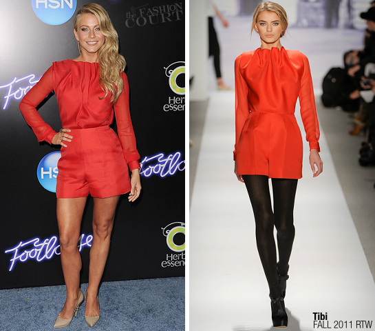 Julianne Hough in Tibi | 'Footloose' LA Premiere