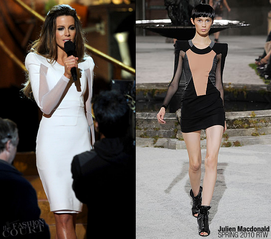 Kate Beckinsale in Julien Macdonald | SCREAM 2011 Awards