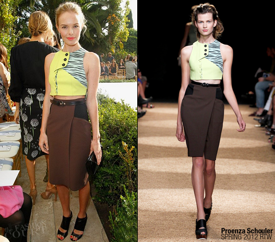 Kate Bosworth in Proenza Schouler | 2011 CFDA Vogue Fashion Fund