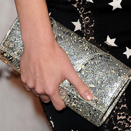 Sedgwick Studio Metallic Clutch