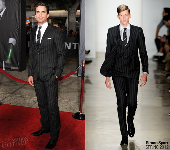 Matt Bomer in Simon Spurr | 'In Time' Premiere