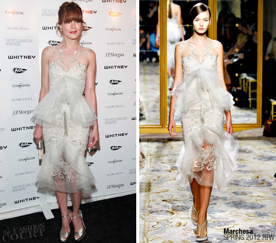 Michelle Monaghan in Marchesa | 2011 Whitney Museum Of American Art Gala