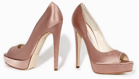 Brian Atwood 'Wagner' Peep Toe Pumps