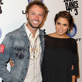 Paul MacDonald and Nikki Reed | Ubisoft 'Just Dance 3' Launch