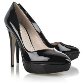 Miu Miu Patent-Leather Pumps