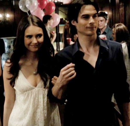 Nina Dobrev wears Alice + Olivia on 'The Vampire Diaries'!