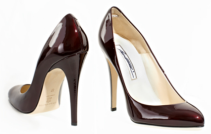 Brian Atwood 'Nico' Patent Pumps