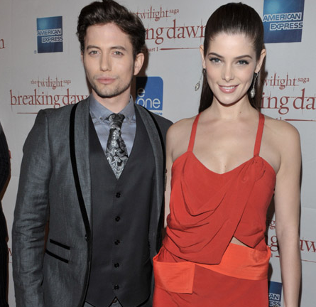 Ashley Greene in Narciso Rodriguez | 'The Twilight Saga: Breaking Dawn - Part 1' Toronto Premiere