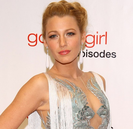 Blake Lively in Marchesa | 'Gossip Girl' 100th Episode Celebration