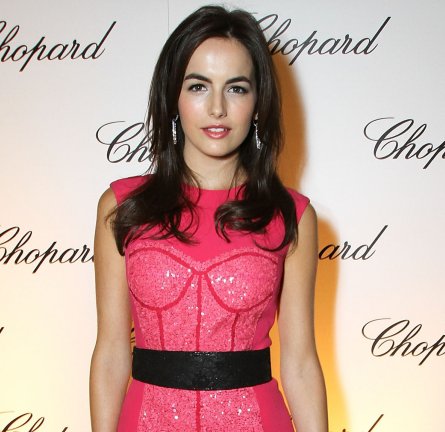 Camilla Belle in Monique Lhuillier | Chopard Celebrates Reopening Of South Coast Plaza Boutique