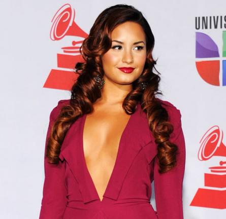 Demi Lovato in Roland Mouret | 12th Annual Latin GRAMMY Awards