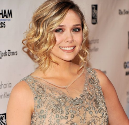 Elizabeth Olsen in Valentino | IFP's 21st Annual Gotham Independent Film Awards