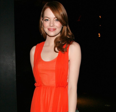Emma Stone in Carven | 2011 American Museum Of Natural History Gala