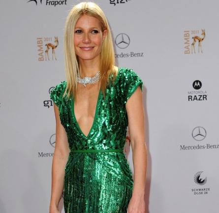Gwyneth Paltrow in Elie Saab   2011 Bambi Awards