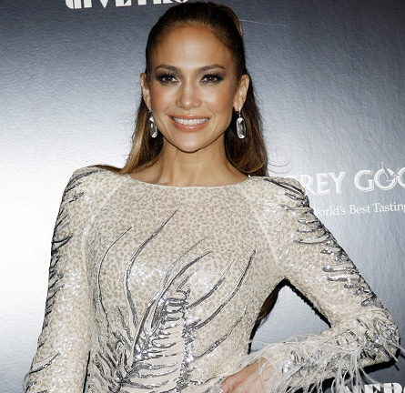 Jennifer Lopez in Emilio Pucci | 2011 American Music Awards Post-Party
