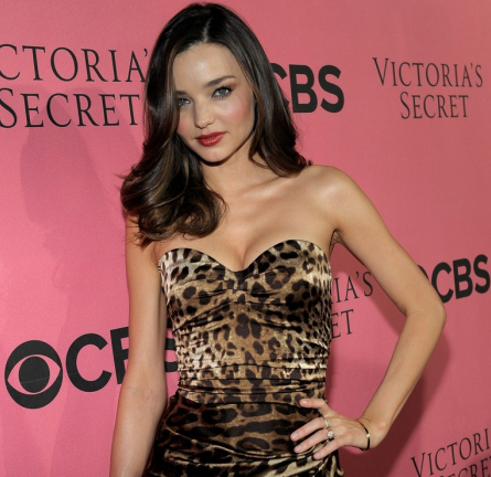 Miranda Kerr in Dolce & Gabbana | Victoria's Secret Fashion Show Viewing Party