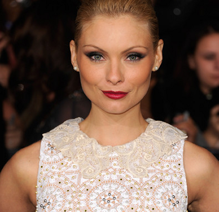 MyAnna Buring in Alessandra Rich | 'The Twilight Saga: Breaking Dawn - Part 1' LA Premiere