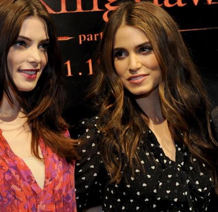 Nikki Reed in Dolce & Gabbana   'The Twilight Saga: Breaking Dawn - Part 1' Concert Tour - San Francisco