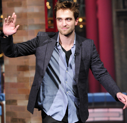 Robert Pattinson in Bespoken | 'The Late Show with David Letterman'