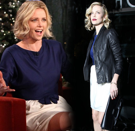Charlize Theron: From Day to Night in Balenciaga!
