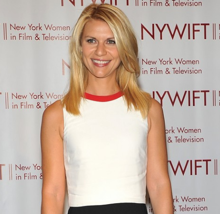 Claire Danes in Valentino | NYWIFT 31st Annual Muse Awards