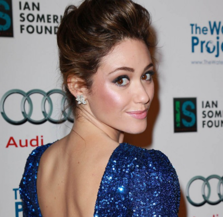 Emmy Rossum in Naven | The Ripple Effect Charity Event