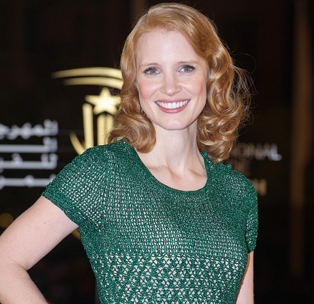 """Jessica Chastain in Issa 