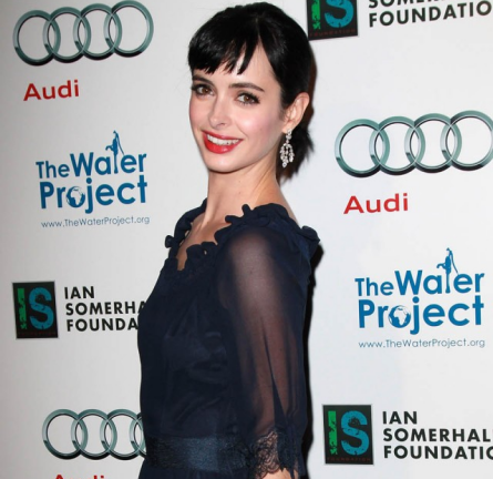 Krysten Ritter in Philosophy di Alberta Ferretti | 'The Ripple Effect' Charity Event