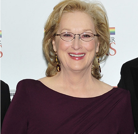 Meryl Streep in Elie Saab | 2011 Kennedy Center Honors Gala Dinner