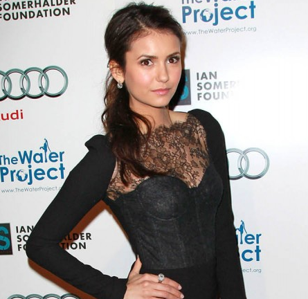 Nina Dobrev in Monique Lhuillier | 'The Ripple Effect' Charity Event