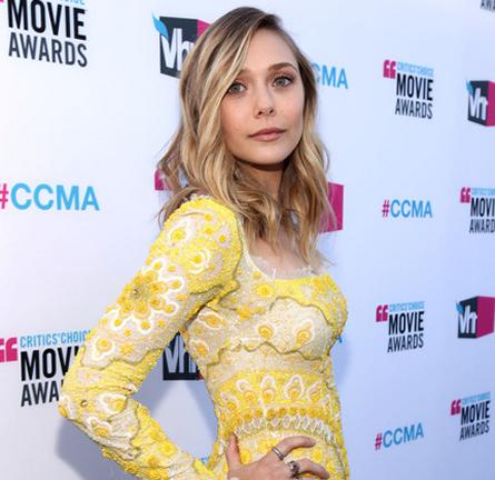 Elizabeth Olsen in Emilio Pucci   2012 Critics' Choice Movie Awards