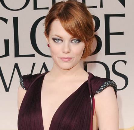 From Tip-to-Toe: Try Emma Stone's Edgy Metallic Eye from the Golden Globes!