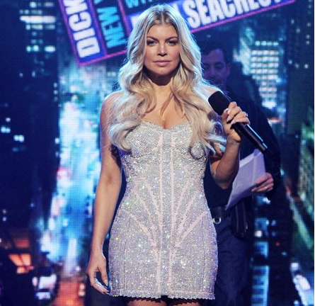 Fergie in Atelier Pavoni, Michael Cinco & Christian Siriano | Dick Clark's New Year's Rockin' Eve 2012 with Ryan Seacrest
