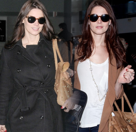 Ashley Greene Gets 'Foxy' at the Airport in Burberry, UGG, Mulberry, Jimmy Choo & More!