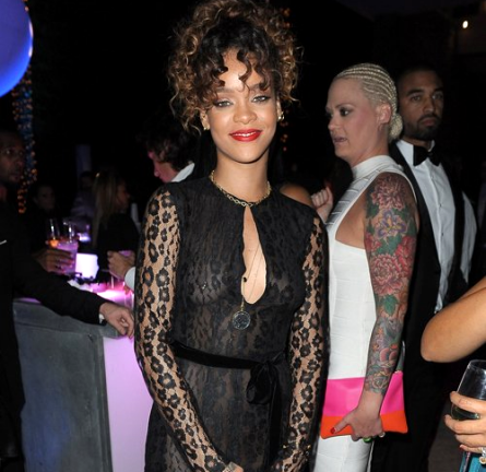 Rihanna in Tom Ford   Sean 'Diddy' Combs Hosts CIROC The New Year 2012