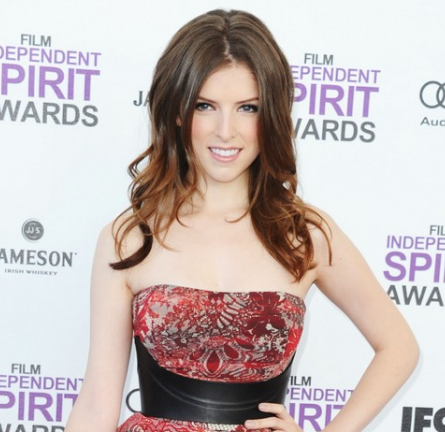 Anna Kendrick in McQ   2012 Film Independent Spirit Awards