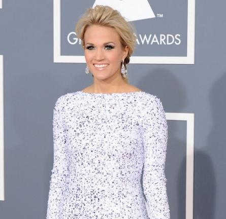 Carrie Underwood in Gomez-Gracia   2012 GRAMMY Awards
