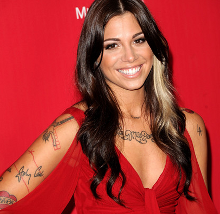 Christina Perri in Kevan Hall | 2012 MusiCares Person of the Year Tribute to Paul McCartney