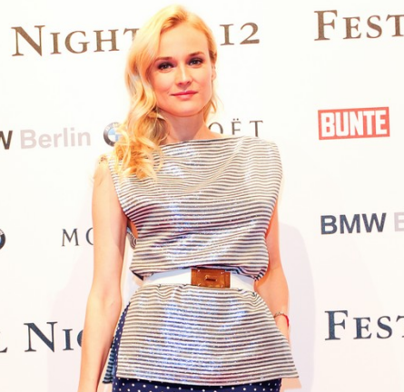 Diane Kruger in Alessandra Rich | Festival Night 2012