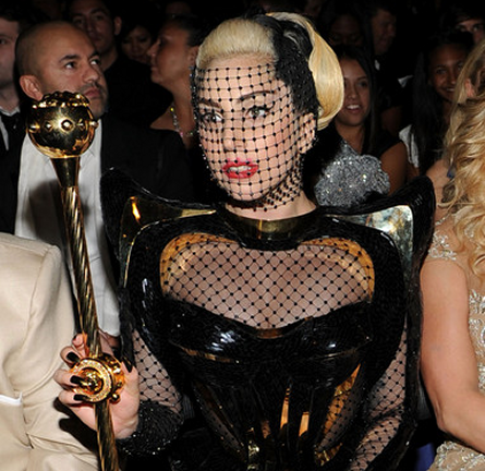 Lady Gaga in Versace | 2012 GRAMMY Awards