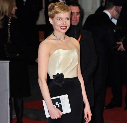 Michelle Williams in H&M | 2012 BAFTA Awards