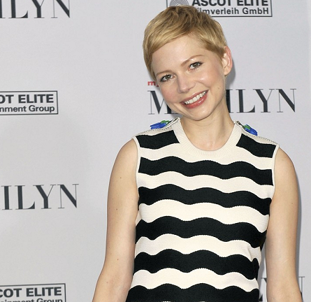 Michelle Williams in Kenzo | 2012 Berlinale Film Festival - 'My Week With Marilyn' Photocall