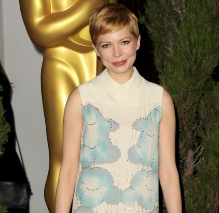 Michelle Williams in Victoria by Victoria Beckham | 84th Annual Academy Awards Nominees Luncheon