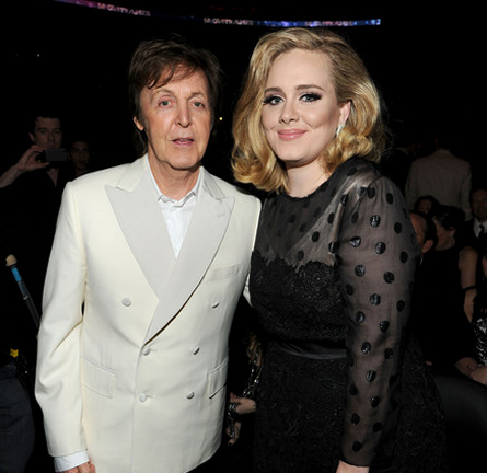 Paul McCartney in Stella McCartney | 2012 GRAMMY Awards