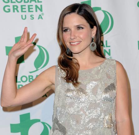 Sophia Bush in Dilek Hanif Couture | Global Green USA's 9th Annual Pre-Oscar Party